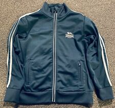 Lonsdale Youth Track Jacket Size 11-12 years Old Navy/Grey, OI, Skinhead, Punk