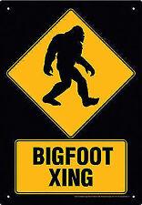 Big Foot Xing Tin Sign