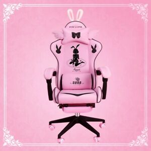 Pink gaming chair for girls gaming chair high quality autofull chair liftable