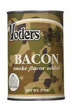 Yoders Canned Fully Cooked Bacon 9 Ounce Free Shipping