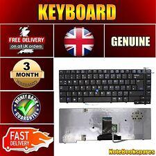 For HP ELITEBOOK 451020-031 8510P V070526CK1 Laptop Keyboard Black Trackpoint UK