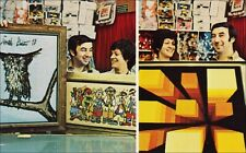 Sewing, Crafts: Owners, Artwork, Cobb Needlepoint Store, Hallandale, FL. 1960s.