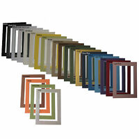 One 5 x 7 5x7 Mat Matte for 4 x 6 4x6 Photo Art Picture Frame - You Choose Color