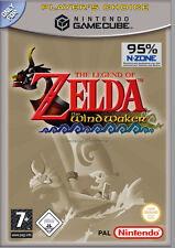 The Legend Of Zelda: The Wind Waker (Nintendo GameCube, 2004, DVD-Box) A+++