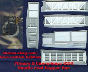 LMH Funaro F&C 6196 HOn2-1/2 HOn30  BILLMEYER SMALLS Old Time Coal Hopper 2-CARS