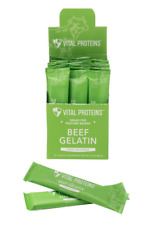 Vital Proteins Beef Gelatin Individual Packets in Box- Unflavored - BRAND NEW