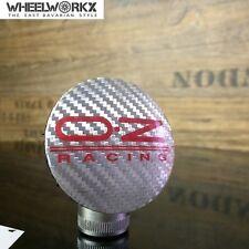 4x Original OZ Emblem Felgendeckel Nabendeckel carbon/silber  55mm 81310444 NEU!