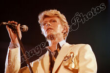 DAVID BOWIE 25 May 1983 Lyon, France - 60 UnPublished Concert Photos fotografie
