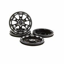 "GDS Racing Four 1.9"" Black Alloy Beadlock Wheel Rim Wide 1"" for RC Model #094BK"