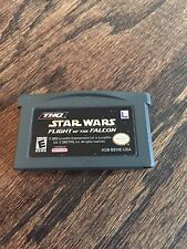 Star Wars: Flight of the Falcon (Nintendo Game Boy Advance, 2003) GBA Cart