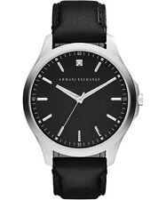 ARMANI EXCHANGE Men's Smart Black Strap Watch - AX2182