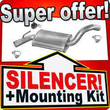 Middle Silencer VW GOLF III/IV VENTO 1.8 90PS 1.9 TD 75PS 91-00 Exhaust Box NNT