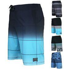 Men's Teen's Swimwear Board Shorts 32 Size Cool Gym Swim Trunks Blue