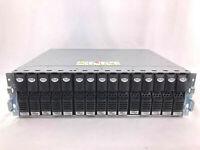 EMC2 15 Bay Expansion KTN-STL4 Disk Array w/ Caddies & Interposers, NO DRIVES