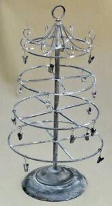 "Melissa Frances Provence Display Rack 18"" farmhouse decor collapsible jewelry"