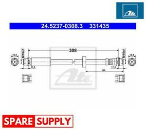 BRAKE HOSE FOR AUDI SEAT ATE 24.5237-0308.3