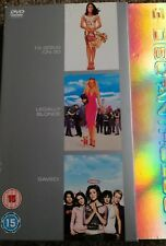 13 going on 30, legally blonde, saved dvd