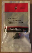 NEW! RadioShack SPST Momentary Pushbutton Switch 2750646 *FREE SHIPPING*
