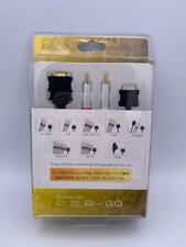 Sony PSP Go/PSP-N1000 componente D-Cable de Vídeo Chapado en Oro Nuevo Sellado