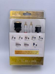 Sony PSP Go/PSP-N1000 Component D-VIDEO  Cable Brand New Sealed GOLD PLATED