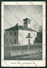 Torino Castagneto Po cartolina QK1142