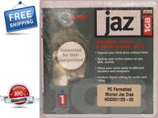 NEW IOMEGA JAZ 1GB. DISK IBM FORMATTED NEW IN SEALED PACKAGE