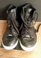 G by Guess Oryan High‑Top Sneakers-Womens Size 7M-Black