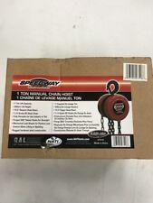 Speedway 1 Ton Chain Hoist Model 7518