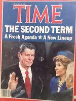 Time Magazine Ronald Reagan's Second Term january 28, 1985 100717nonrh