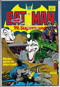 Batman Superband Nr.19 von 1984 - TOP Z0-1 ORIGINAL ERSTAUFLAGE EHAPA COMICALBUM