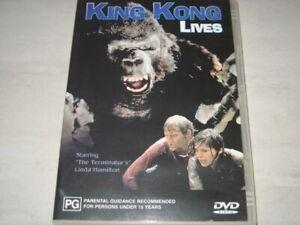 KING KONG LIVES DVD R4 NEW