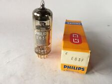 Philips E83F SQ Vorverstärker Röhre für TAB V76, Audio Tube, NOS