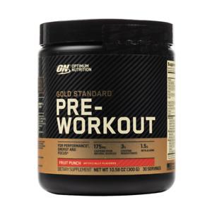 Optimum Nutrition - Gold Standard Pre-Workout 30 Servings All Flavors