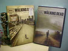 Walking Dead The Complete First Season 1 and 2 on DVD NICE