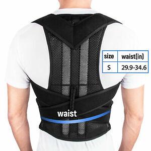 Adjustable Women Men Back Posture Shoulder Corrector Support Brace Belt Therapy