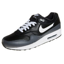 new style 862b6 fbd51 NIKE AIR MAX 1 LTR Black White Dark Grey MENS Sneakers Trainers
