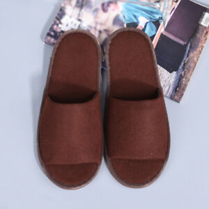 Portable Women Slippers Flop Disposable Home Non-slip Hotel Spa Slippers Shoes