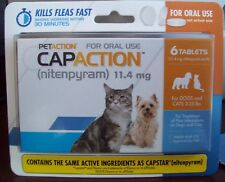 New listing Petaction Capaction 6 tablets For cats 2-25 lb *compare to capstar