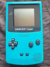 Nintendo Gameboy Color Console Blue Teal
