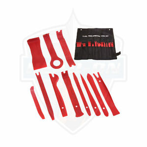 NEW  11 Piece Fastener & Molding Removal Tool Set