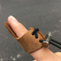 Archery Finger Protect Glove 3 Finger Pull Bow Arrow Shooting Gloves HF