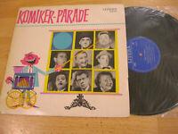 LP Komiker Parade Der Erlkönig Das Plättbrett Vinyl Litera DDR 8 60 059