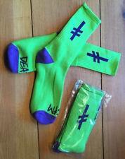 Deathwish Skateboarding Gang Logo Socks - Unisex Athletic Sport Running Socks