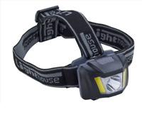 Lighthouse Elite Rechargeable COB LED 150 Lumens Head Torch Lamp Light EHEAD150R
