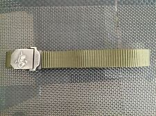 French Foreign Legion, Legion etrangere, Fremdenlegion, belt with Logo, Armee
