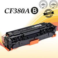 Black Toner For HP CF380A 312A LaserJet Pro MFP M476dn M476dw M476nw | 1 PACK