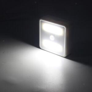3V Battery Operated COB LED Light Motion Sensor Night Light for Bathroom
