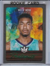 2017-18 COURT KINGS PORTRAITS MALIK MONK  ROOKIE RARE GREEN 3/10 RC KENTUCKY SSP