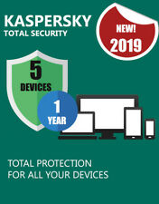 KASPERSKY TOTAL SECURITY 2019 5 DEVICES PC 1 YEAR GENUINE CODE & OFFICIAL LINK
