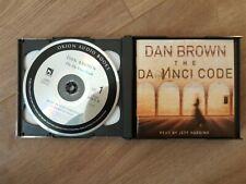 The Da Vinci Code by Dan Brown (CD-Audio, 2004)